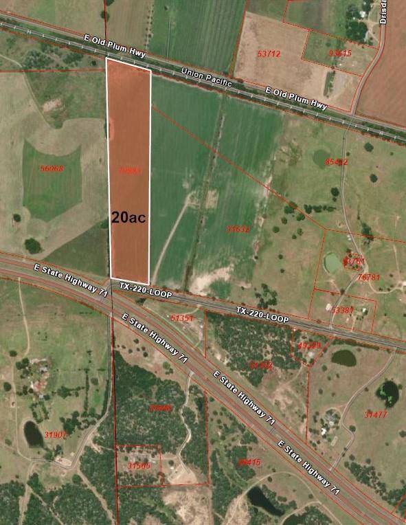 TBD Hwy 71 W & Loop 220 W, Plum, TX 78952