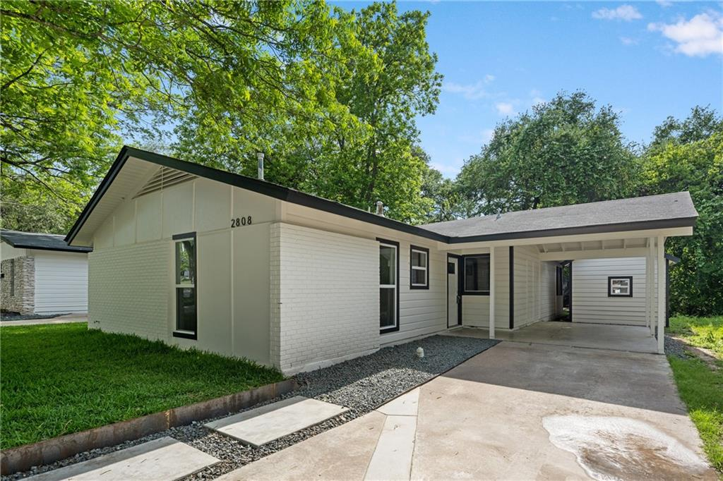 Freshly updated 4 bedroom/2 bathroom one-story home in HOT, HOT, HOT 78704 Central-South Austin. High walk score, near the likes of Summer Moon, Toss Pizza, Magnolia Cafe and more! About 2.5 miles to downtown Austin, and 4.5 miles to Zilker Park! This home has had, as of May of 2021, new flooring, paint, cabinets, appliances throughout the main house. The ADU has been updated as well.  Enjoy the peaceful lot, backing to the creek. The ADU/separate structure may or may not be permitted to remain, and should not be calculated as a component of value. Any cost to remove post-closing would be a buyer cost. Seller does not warrant the secondary structure.