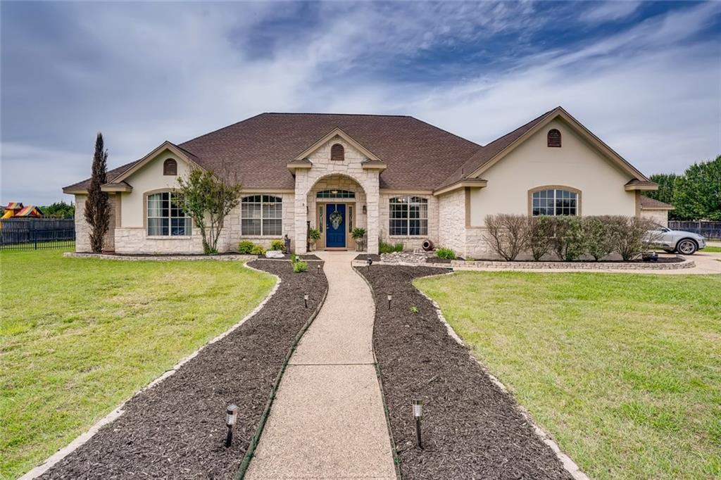 1.296 acres just steps from the  San Gabriel river and entrance to Gary Park. Single story sprawling ranch style home with open floor plan. Huge master bedroom with private exit to pool and hot tub in the back yard. Beautifully landscaped. Absolute private back yard backs up to open field. From the front door you can see the bluff above the San Gabriel River the 500 acre Gary Park with miles of hiking and equestrian trails steps way.