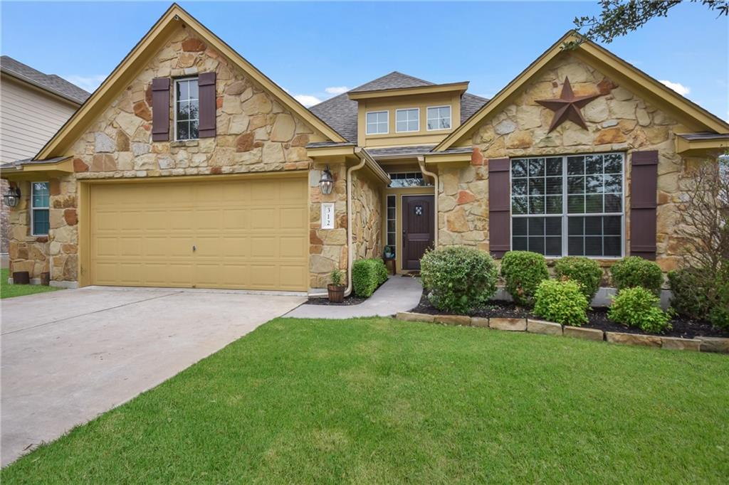 MULTIPLE OFFERS RECEIVED. Highest and Best due by Sunday, May 23rd at 5pm.  Seller reserves the right to accept an offer earlier. Don't miss this charming one story in Parkside at Mayfield Ranch.  Home is 4 bed/2 bath with an open family/kitchen area. Backyard boast an oversized covered back porch perfect for gatherings, and a sport court. Washer/Dryer/Refrigerator all convey. Owner open to negotiating furniture and other appliances as well!  See documents uploaded for full list of home improvements.  This one will not last long!  Text listing agent for any questions.   12 offers received last weekend!    Preferred offer and terms may be accepted at any time!