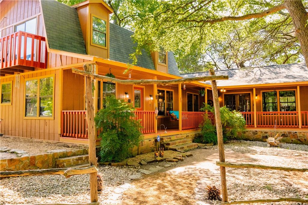 Ponderosita Ranch is a special property with a very relaxing setting and sanctuary qualities. You get to select your choice of opportunities with this wonderful little ranch including investment, retreat, residential, or equestrian. The many attributes such as amazing trees, creek, views, very nice home, Airbnb units, equestrian and many other improvements, all contribute to a multitude of opportunities on this property. Multiple additional home-sites allow for new building or possibly a retreat or venue. The current main home could be added to the Airbnb business or used as a residence. The equestrian facilities could be utilized for personal or business or could easily be repurposed to other uses. Whatever the use, the Ponderosita Ranch has a unique spiritual quality that will relax and inspire visitors.