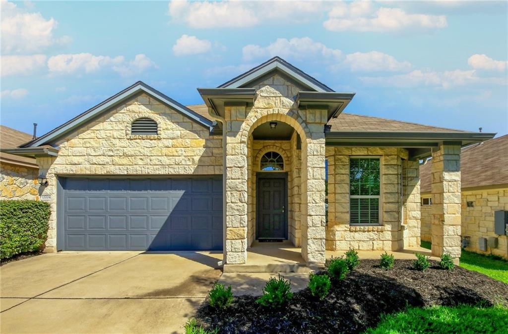 This stunning 4BD/3BA home features 3 bedroom downstairs, a huge yard, a loft bonus room and 2,269 sqft of living space just 30 mins from downtown Austin. Assigned to top-rated Rutledge Elementary, Stiles Middle School and Vista Ridge High School.   This attractive limestone façade home sits on a groomed landscaped yard featuring mature trees and shrubs. Off the entrance is the home office, featuring bay windows and hardwood floors. The entry opens up to double-height kitchen, living and dining areas that are perfect for entertaining. The chef kitchen features stainless steel appliances, mosaic tile backsplash, granite countertops, center island and walk-in pantry. The dining and living areas feature plenty of windows and spacious layout. Easy patio access is perfect for summer BBQs.   Retreat to the oversized owner's suite featuring a picture window and double doors leading into the owner's bath with double vanities and a walk-in glass shower. A spacious WIC is off the bath. Two secondary bedrooms and a laundry room are also on the main floor. Upstairs, enter the large bonus room overlooking the main floor for a bright and airy feel. A bedroom and bath is also on the second floor.   The huge manicured yard is perfect for kids and pets, while you'll love spending evenings on the covered concrete patio or the extended seating area that's perfect for al-fresco dining. This is a lifestyle home built for life, work and play. Walk to the neighborhood playground, pool and Brushy Creek Hike and Bike trail and YMCA. 6 minutes from shopping, including Target, Macy's and Sam's Club and easy access to US-183 for effortless commute.