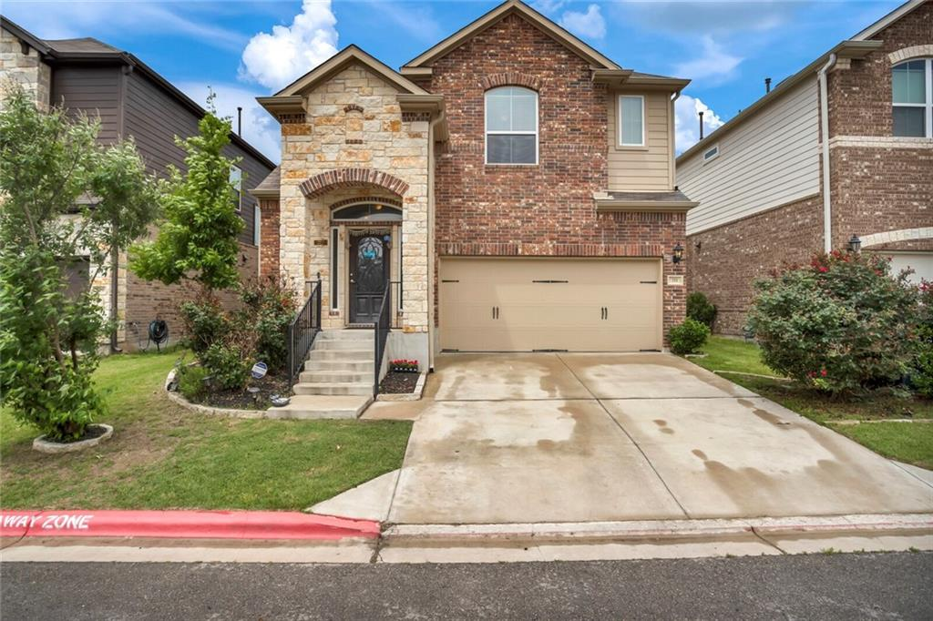 Multiple offers received. Quaint little gated community in the heart of Roundrock. This bright home tick marks everything one wants. Media room, Game room, 4 Bedrooms, at a great price. Highly acclaimed Roundrock ISD. No investors at this time as per the HOA. Please verify the school information.