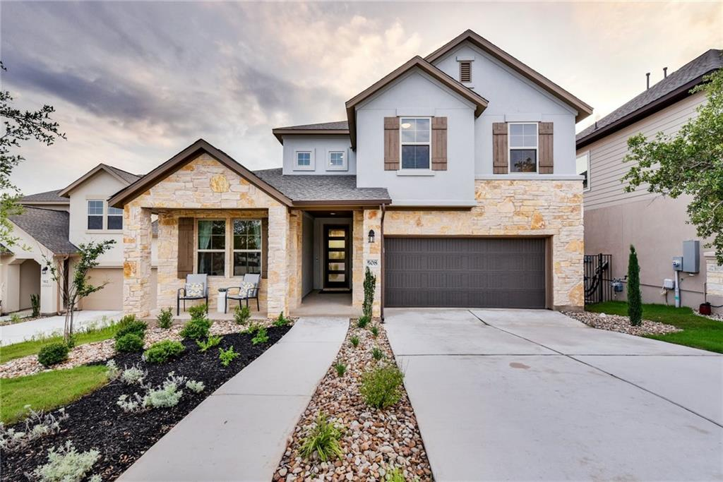 """This """"like new"""" home has it all! 4/2.5 + an office, on a cul-de-sac, with breathtaking sunset views along the entire rear of the home. The open floorplan with large windows allows an abundance of natural light to pour in. The kitchen features a large kitchen island, quartz counters, a gorgeous backsplash, and plenty of cabinet and pantry storage. Smart features throughout including, thermostat, Ring doorbell, garage door, and front door lock. Extra-large landing upstairs makes a great 2nd living room, workout, office, or school space. All of this is the amazing Rancho Sienna neighborhood with all of its amazing amenities. This home is a dream!"""