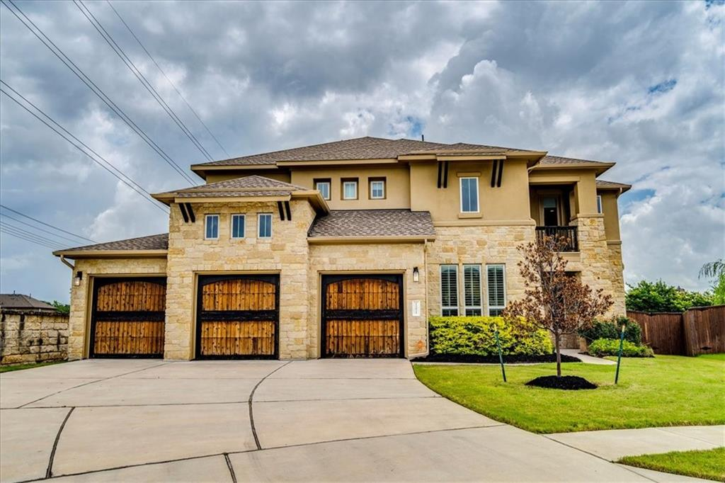 Stunning 3948 Sq Ft Home On A Cul-De-Sac Lot Features 5 Bedrooms, 4 Baths, 3 Living..Family, Game & Large Media Room, 2 Dining, Plus Office/Study & 3 Car Garage!! Primary Bedroom & Bedroom 2 With Bathroom Are On The Main Level. Beautiful Kitchen With Quartz Countertops, Breakfast Bar, Stainless Appliances, Built In Oven & Microwave, 5 Burner Gas Cooktop & Walk In Pantry. Family Room With Gas Log Fireplace, Two Story Ceiling & Wall Of Windows. Oversized Primary Bedroom With Primary Bath Includes Double Vanities, Walk In Shower, Garden Tub, His & Her Closets. Upstairs Has 3 Bedrooms With Walk In Closets & 2 Full Baths, Nook To Build In A Desk, Game Room With Balcony Off The Front Of The Home, Plus A Very Large Media Room. This Home Has Barely Been Lived In!! Close To Schools, Shopping & Toll Roads!!
