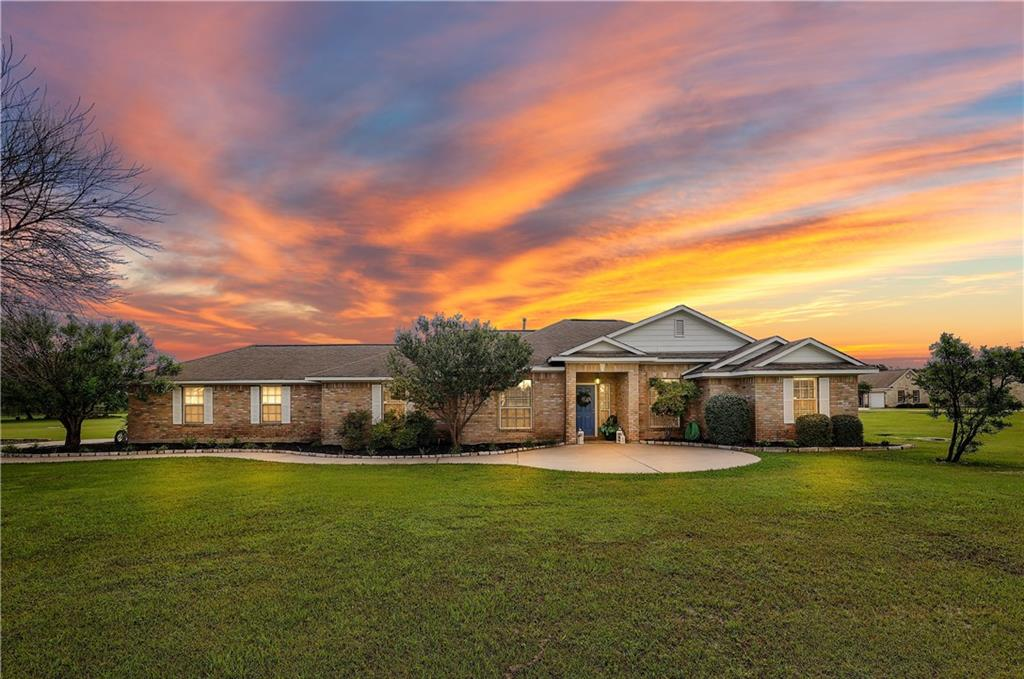 Welcome home to this highly sought after gated community, Gabriel's Overlook.  If you are looking for space, this beauty is set back from the street and offers 2.70 acres of pure serene calmness. Bring your meticulous buyers to this gorgeous 4 bedroom home with an open and spacious living that is great for entertaining. Updated kitchen with stainless steel appliances. Primary bedroom has a large bath with a separate shower, garden tub and oversized walk in closet you will love! Ample size secondary bedrooms are located on the opposite side of the house from the primary bedroom. With these Texas summers, enjoy the private pool in your back yard with a privacy fence on the sides while still enjoying looking at the rest of your land on the back side. Oh and did I mention the LOW, LOW tax rate of 1.91!!! Gabriel's Overlook is conveniently located on 29 just minutes from Ronald Reagan and 183A access. HEB Shopping opening Fall of 2021 is less than 2 miles away. Enjoy also shopping and eating at nearby Wolf's Ranch or even the Round Rock Outlet that is less than 15 minutes away. This country living at it's best, but still close to the city is waiting for you!