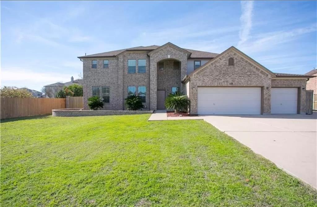 105 Sultana CT, Round Rock, TX 78664