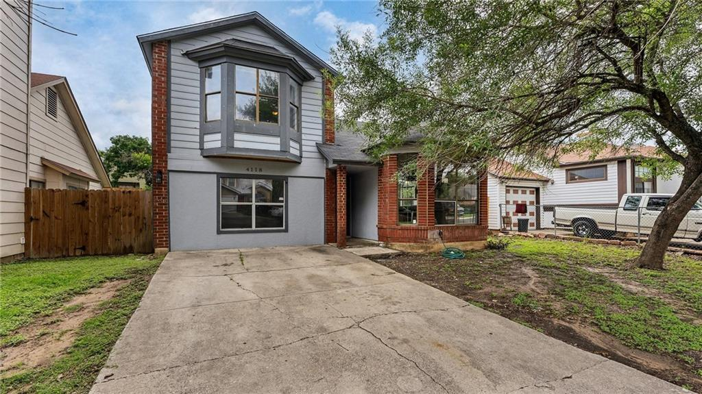 This beautiful residence offers innate charm and great style. The interior features include a light-filled floor plan with high ceilings, two spacious living areas, and privately situated master suite. The outdoor space is complete with a privacy fence and mature trees. Seller does not have an existing survey and would like to sell as-is.