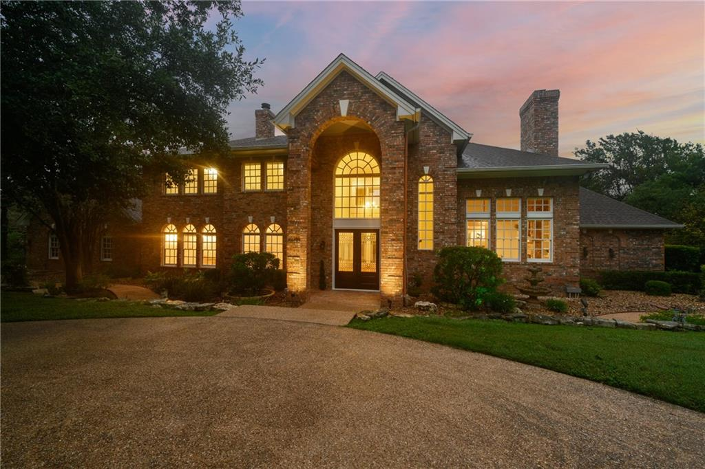 Westlake Hills estate that has it all! Unbeatable location with easy access to Downtown Austin, Hwy 360 and Bee Cave Rd, all while being situated on just over an acre lot on a quiet cul-de-sac with gated entry to the property. The sprawling home features 4 bedrooms, 5.5 bathrooms, office/library and 6,031 square feet. Multiple living spaces, spacious and numerous closets, oversized primary suite, 4 fireplaces, Butler's pantry, recently updated kitchen countertops and appliances, all bedrooms with en-suite updated bathrooms, and additional bonus spaces are just a few of this home's remarkable features. The office/library is breathtaking.  Outdoors is a dream for enjoying meals, entertaining friends and family and soaking in the serenity of this resort-style backyard. The oversized patio, pool, spa, sport court and spacious yard with lovely mature trees await you. Don't miss your opportunity to make this home your own!