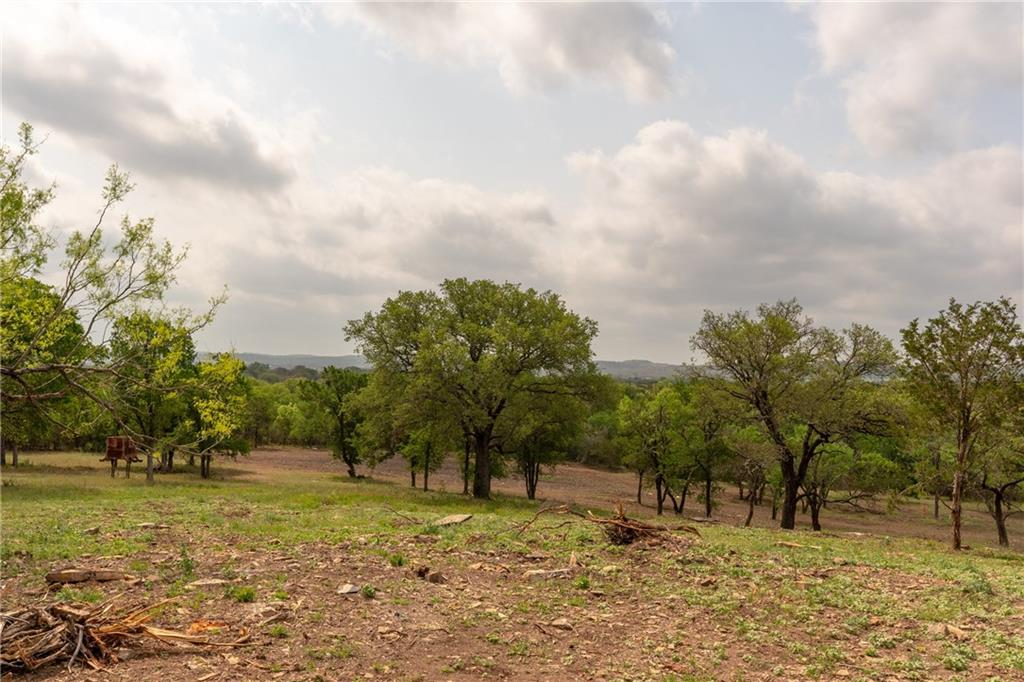 Incredible acreage tract with over 2,000 feet of grade level frontage on Highway 71, one of the fastest growing corridors in the area. Also frontage on CR 409A. Commercial allowed.  3 phase electric on the property along with water well.  Neat wet weather creek flowing through the property with small pond. Gorgeous views, and spectacular trees, huge live oaks and post oaks throughout.