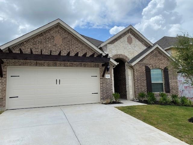 Award winning Juniper floorplan with features that include: Kitchen Island with Granite Counters   Large Owner Walk in Shower with Garden Tub   Custom Tile Mudpan in Owner Shower   Blinds   Built in Appliances   Walk in Pantry   Covered Patio.  Available NOW!!!