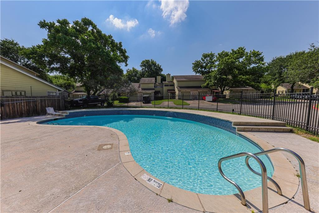 This amazing condo is in a quiet complex, has good light, backs to a residential lot that has large trees which shade this unit's back yard! The location within the complex is ideal. Open House Saturday June 19, 2021. Submit all highest and best offers to marlene@randallmorris.com before noon on Monday June 21st.
