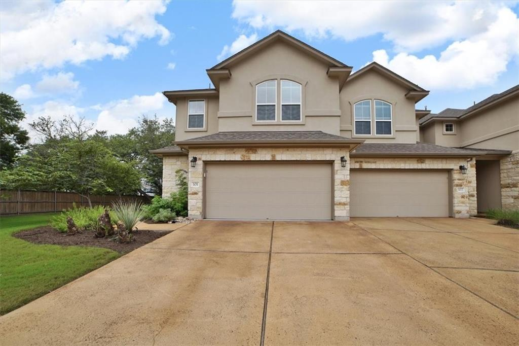 Great NW Austin Location, close to area amenities. Round Rock ISD, 4 beds 2.5 bath, eat in kitchen, large loft, fenced private backyard that is maintained by the HOA! Very private location in development. NO neighbors to the front, behind or to the left side due to this being an end unit with more windows. Mature trees in back yard. Granite Countertops, Wood/tile/carpet floors, ceiling fans, high ceilings, Blinds, oversized 2 car garage.