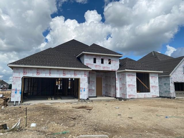 Yale floor plan with features that include 4th Bed and 3rd Bath in lieu of Study and Powder   Full Gutters   5 Burner Cooktop   Drop in Tub with Mudset Pan in Owner Bath   Upgraded Cabinetry   Granite Counters   Large Kitchen Island   Walk in Pantry. Available October.