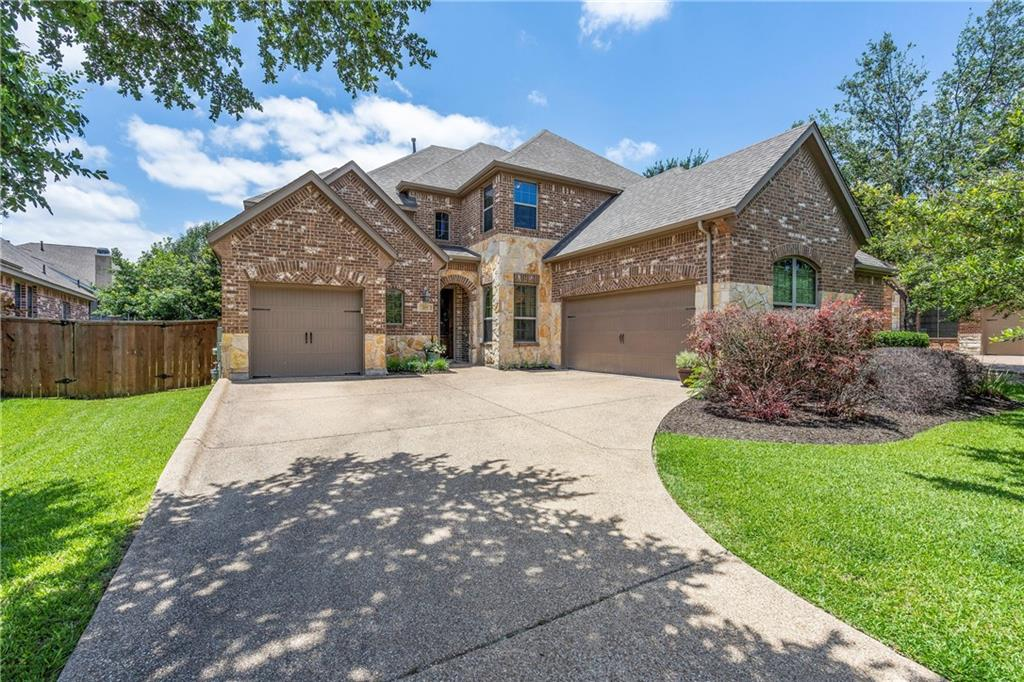 209 Angus Drive is a wonderful home in Ranch at Brushy Creek perfect for entertaining in the backyard or around the large kitchen island. This two-story home sits on a 0.226 acre lot with mature trees and a 3-car garage. The home's location makes it convenient to many of Austin's major employers, close to exemplary rated Round Rock schools, and local eateries like Moonshine and Mandola's Kitchen. Ranch at Brushy Creek features two neighborhood pools, playscape and walking trails. Large windows let natural light bathe the main living room and kitchen for a bright and airy feel inside. The primary bedroom and a guest suite with full bathroom on the main floor create a versatile floorplan for any homeowner. Secondary living areas include a study/office, game room with built-in desk, and a media room. The kitchen boasts a large island with breakfast bar, stainless appliances, pantry with ample storage and an in-wall beer tap and keg-0-rator. The primary bedroom suite sits privately on one end of the home and features a soaking tub, walk-in shower and large walk-in closet. Additional bedrooms upstairs with jack and jill bath also have walk-in closets. Split 3-car garage that could act as a gym, gardening room, bike storage, you name it. Enjoy the extended deck and outdoor living area or try your hand with the raised garden bed. Fast-growing Bamboo plants have been planted along the back fence to add privacy to the backyard. You don't want to miss everything this home has to offer.