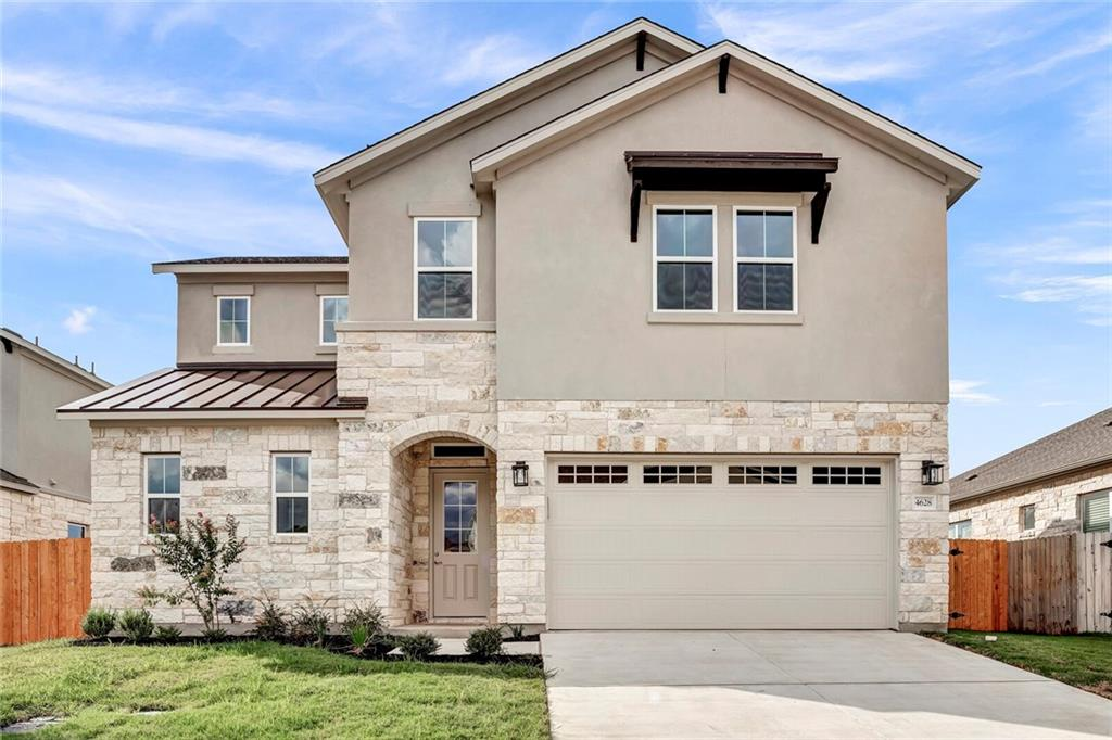 Beautiful Park view! Enjoy this sought-after boutique style gated community within Leander ISD and close to major shopping centers and highways! This 2-story home with striking finishes has master downstairs and bonus room upstairs. Fenced lot backs to section of county park. Large kitchen island, open to spacious dining area and family room--all with views of the park! Easy access to Williamson County Regional Park featuring bike/walk trails, basketball, tennis courts, and more.