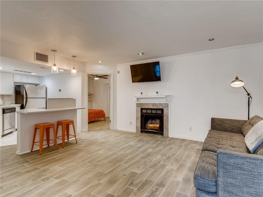 Updated flooring -tile