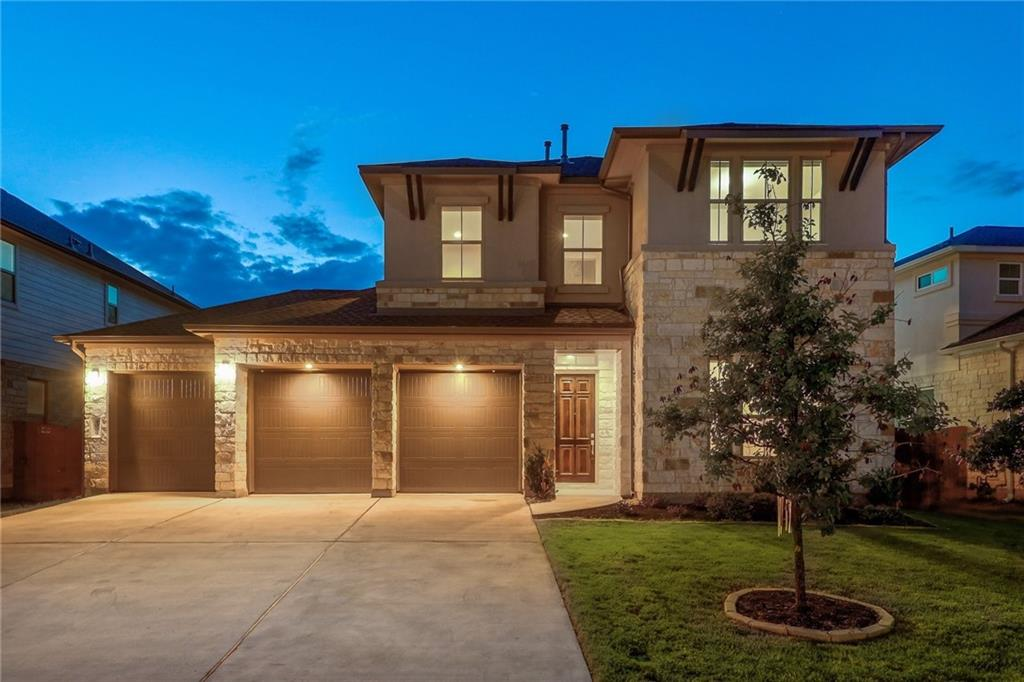 ***Multiple offers received.  Please submit highest and best by Tuesday midnight.***  Don't miss out on this immaculately maintained 2018 built, 3 car garage home!  Gorgeous 2-story home in the Ranch at Brushy Creek with desirable Round Rock schools!  Barely lived in Former CalAtlantic Home:  4030 B - Vazzano plan completed in 2019.  On the main level, you will find a dedicated home office or 5th bedroom, a well-equipped eat-in kitchen, a formal dining area, a large and comfortable family room with high ceilings, and a spacious owner's suite.  Upstairs, in addition to the 2 generous-sized secondary bedrooms, is a huge game room/flex space.  Gourmet kitchen with Silestone counters, stainless appliances, and a large island/bar that opens to the family room.  Large backyard and covered patio will be great for entertaining. Ranch at Brushy Creek is an amenity-rich community just north of Avery Ranch Golf Course. Enjoy miles of hike and bike trails, parks, and nearby shops.   Buyer's agent to verify all listing info.