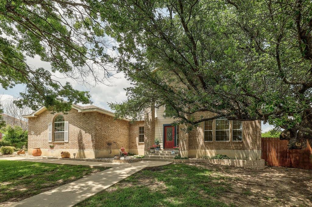 JUMP RIGHT IN - READY for the long Texas Summer in this beautiful inground pool (3-4-5 feet deep) - This spacious 2004 Centex build, offers 4 bedrooms (primary on main), 2.5 baths, ,2 dining areas, 2 Living, and 2 car garage with WIFI garage opener and much more on a half-acre Lot! Utility sink within your laundry room!  Located in rural Bell County in the acreage neighborhood of Crossland Estates, this home offers the best of country & city living! Easy commute into Temple-Belton or direct shot onto Fort Hood.  Additional workshop (2020) with dual roll-up doors allows for easy drive-through for yard maintenance or extra parking and storage. NO CITY TAXES!!  Contact your preferred Realtor for your personal showing.