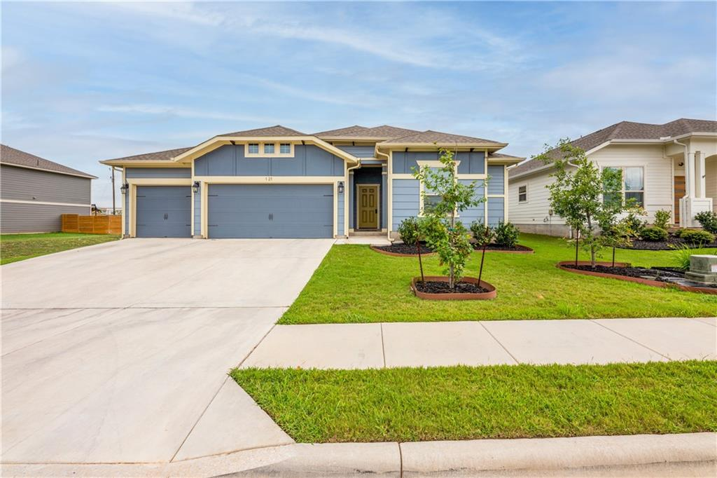 Just a few years old and very well maintained four bedroom home is conveniently located to the intersection of HWY 183 and Hwy 29 in Leander. Property located across from community pool.