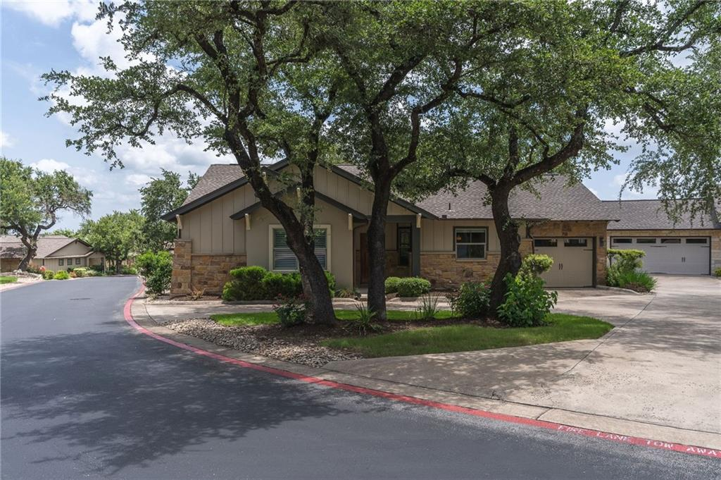Meticulously well kept free standing condo in The Cottages at Spillman Ranch! Almost like new interior with great floorplan!  Large common spaces all open with an abundance of natural light and warm hardwood floors. Great plan with 'In-law' room locations.  Primary bedroom includes large sitting area.  Builder also offered this as a 3rd bedroom/office option so it can be converted to a separate space.  Attachments include a possible rendering. Peaceful backyard with nice tree views and covered patio. Oversized one car garage and rare roundabout driveway (only one in community). Cool off and relax in the neighborhood pool. Won't last long!