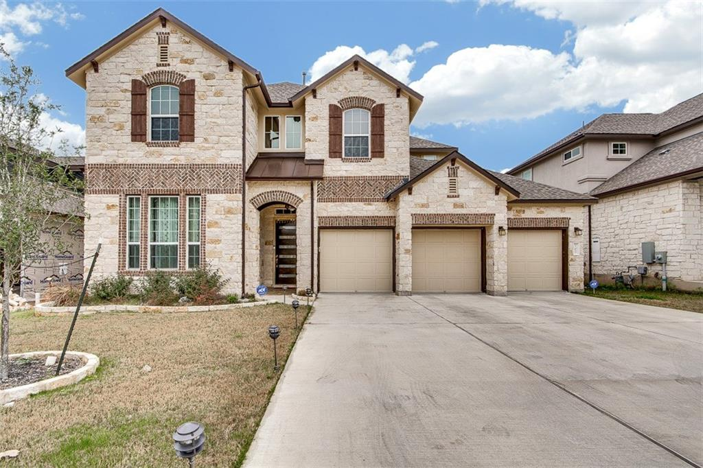 TENANTS  IN PLACE UNTIL 15TH SEPTEMBER. Amazing 2 story 4 bedroom Home in Highly sought after TRAIL SIDE AT THE RANCH AT BRUSHY CREEK Subdivision. This home features an open floor plan, classy Brazilian Pecan wood flooring, high ceilings, siltstone countertop, stainless steel appliances, under mount lighting. Beautiful landscape backing the greenbelt. Master Bedroom on the Main level along with the guest bed and full bath. 2 Bedrooms, Media and Game room Up. AWARD WINNING RRISD SCHOOLS.