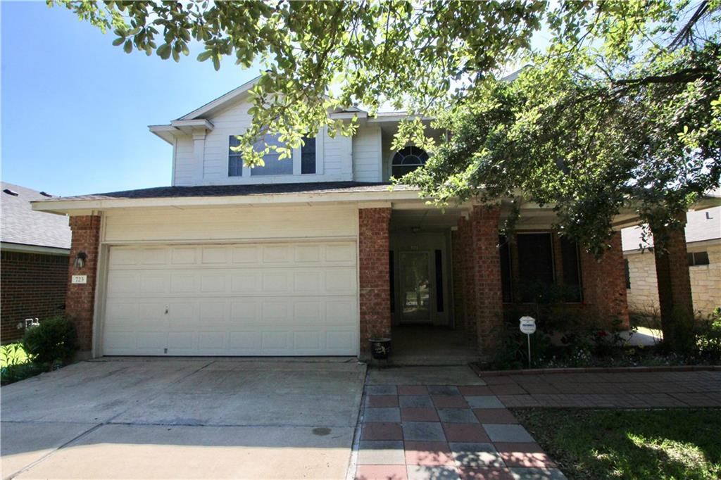 Very nice location on this 4 Bedroom 2 story in Quest Village in Cedar Park. Close to the Mall and all other shopping. Easy access to the 183 A toll . and 1431 . Open floor plan with big kitchen pantry and island  and big patio and deck. Highly rated schools.