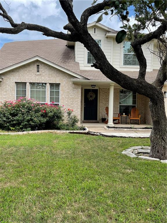 A taste of Chardonnay! Beautiful Home in Blockhouse Creek. Well kept. 4 Bedroom 3 Full bath. Kitchen opens to the family room.  4th Bedroom used as office/gym on the first floor. updates throughout the house. Kitchen, No carpet. Engineered Wood floor and Tile throughout entire house! Recently updated appliances see updated list attached.  All appliances will convey.  Recently added patio, in addition to covered back porch. Trees for shade in the Back yard!(Very similar floor plan about a block over, recently closed $603k, Listing #3960486!