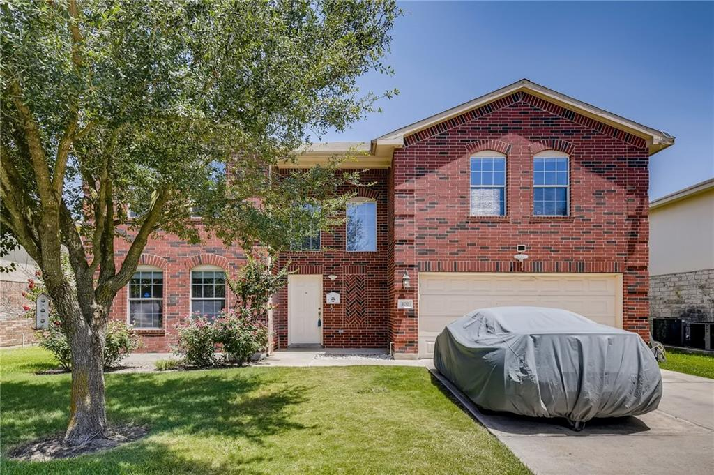 This home is move-in ready, just in time before the new school year! This lovely 5-bedroom home is located in the highly desirable town of Hutto. The huge kitchen is the heart of the home with a cozy breakfast area. The primary bedroom is located upstairs with 3 other bedrooms with a guestroom and bathroom downstairs.   This home has a very open feel with lots of natural lighting.  Need a nice size backyard to entertain your family and friends, well this one is just perfect for that!  Oh, did we mention the extra-large driveway that can easily accommodate 4 cars with no problem. (One of the largest in the neighborhood) Close to shopping, foodery, and major employers, just hop on 130 and go!