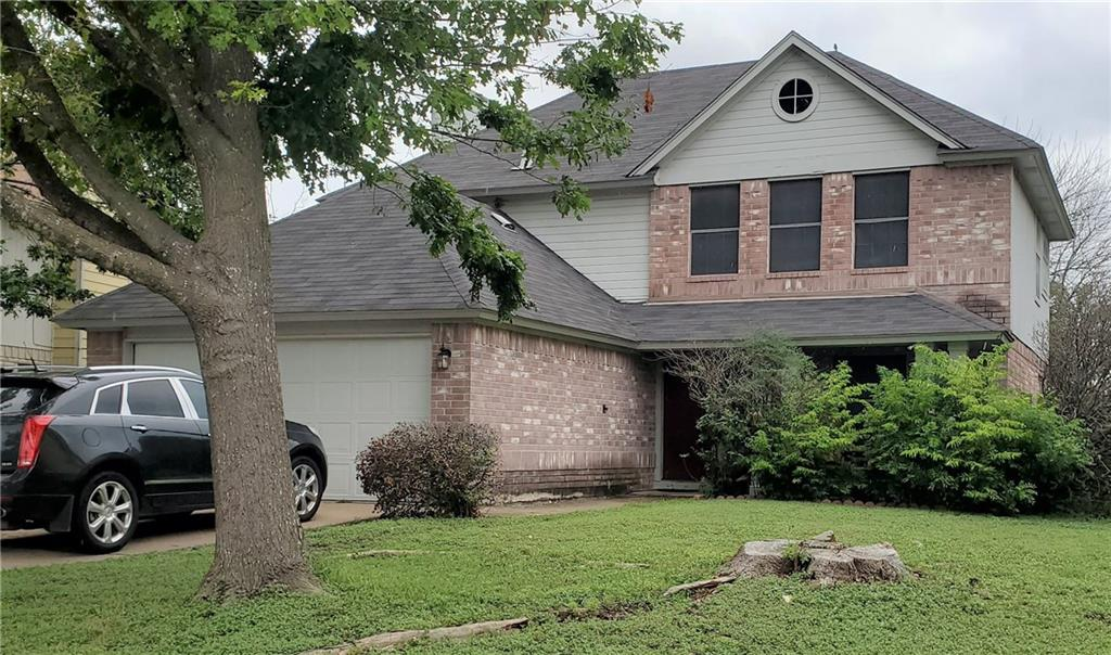 INVESTORS!! LEASED THROUGH 5/31/2022!! INCREDIBLE LOCATION WITH EASY ACCESS I35 AND TECH REGION. WALKING DISTANCE TO ELEM, MIDDLE AND HIGH SCHOOS. SPACIOUS LOT OFFERS FRONT AND BACK YARD.  NO BACK NEIGHBOR. Great living area leads into kitchen. Open kitchen, breakfast nook and bonus area with fireplace which can be used as den or dining area. Downstairs flooring: living w/planking , hard tile remaining downstairs area. Spacious master bedroom with full bathroom. Master bath offers garden tub, separate standing shower and double vanity.  Spacious secondary bedrooms.  Indoor laundry closet.