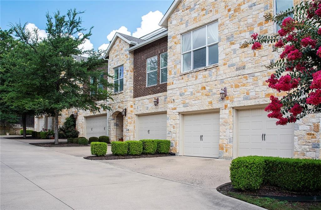 This beautiful townhome is leased through June 30, 2022. Located across from Southwestern University, it is only minutes to IH-35 as well as the SH 130 tollway, and a healthy walk to the popular Georgetown Square. This is one of the larger units in this complex at 2451 SF. Three spacious bedrooms upstairs plus flex space perfect for TV/office. A two-sided fireplace sits in the corner of the living room and can be seen from the kitchen and dining area. There's also a low-maintenance patio with an arbor for relaxing outdoors. HOA maintains common grounds and exterior of all units.