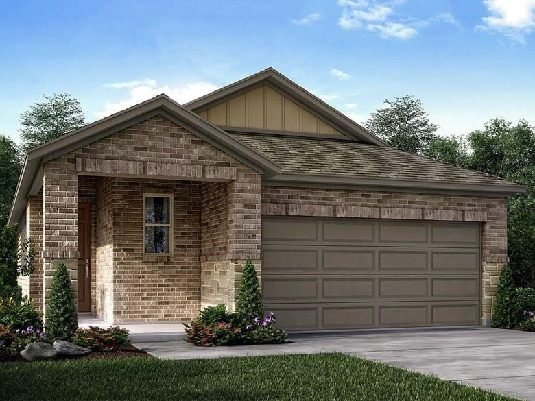 Brand NEW energy-efficient home ready September 2021! Tile floors throughout kitchen and main living areas. Everglade plan private primary suite with large walk-in closet, large kitchen island with spacious pantry, and covered patio. Linen cabinets with smoky grey granite countertops, grey limestone-look tile flooring and textured carpet in our Cool package. Walking distance to Weiss High School. Future Carmel community center to include pool with splashpad, 2 parks, & basketball court. Adjacent to 1849 Park and homes zoned for Pflugerville's newest schools. Onsite amenities include a pool with restrooms, covered porch and patios, plus trails, a basketball court and sprawling open spaces for soccer, picnics, kite flying and more. Known for their energy-efficient features, our homes help you live a healthier and quieter lifestyle while saving thousands of dollars on utility bills.