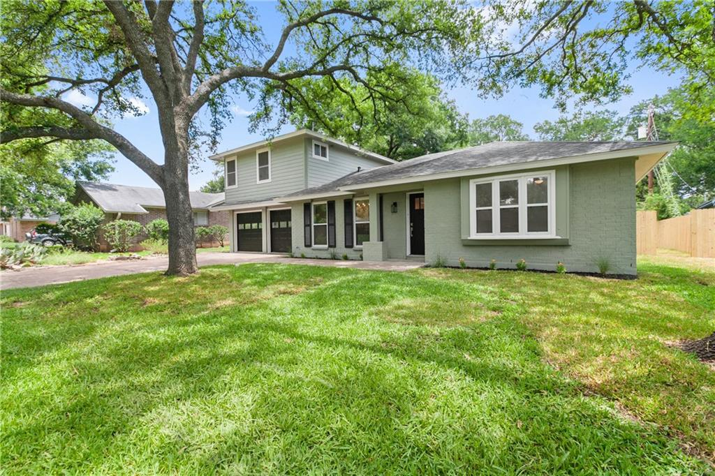 Remodeled 4/3 home in desirable pocket of 78745 with 2 true primary bedrooms both with walk in closets, double vanities and walk in showers. Upstairs primary could be used as den/office/media room as well.