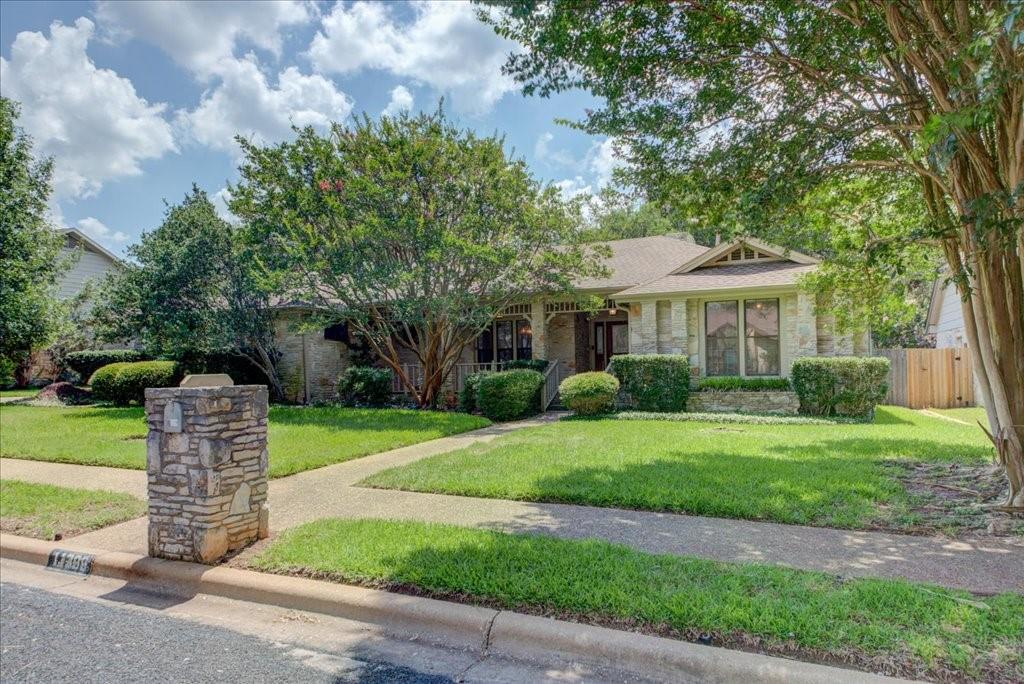 BACK ON THE MARKET!!  OFFER DEADLINE 5PM SUNDAY, AUGUST 1ST. This incredible custom built 5 bdr./3 bth home with a 2-car garage in Spicewood at Balcones Village is well located and exceptionally laid out! Walking distance to community parks, schools and shopping! The home has 3 secondary bedrooms as well as a flex space that could also serve as a fifth bedroom (it even has a closet).  A room off the main living area could also serve as an office or formal living / craft room.   The Master is spacious and features a ceiling fan, large tub and shower, linen closet as well as two walk in closets. Backyard has a beautiful patio, great privacy and a storage garage that is suitable for a shop or golf cart!