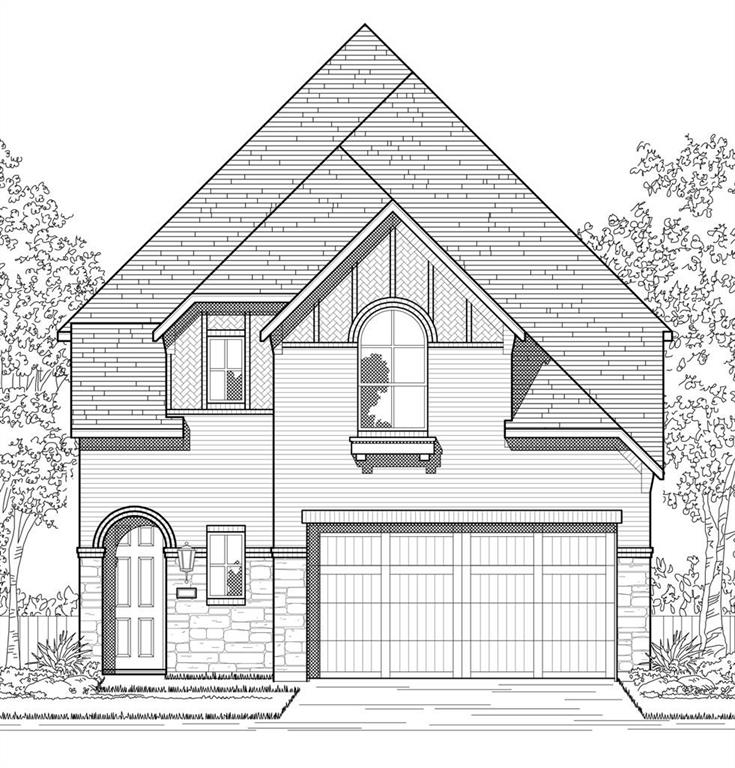 MLS# 5728031 - Built by Highland Homes - July completion! ~ Enjoy the serenity of this extra wide home site featuring our highly sought after Cotswold plan! Great mother-in-law plan including one bedroom & bath down. High ceilings welcome you inside your space, dramatic features including horizontal iron railing and a painted brick exterior. Entertain in your kitchen including wall-mounted appliances and optional 15 cabinetry for storage. Primary bedroom located upstairs. NO BIDDING-NO WAITLIST! ESTIMATED COMPLETION: JULY 2022.