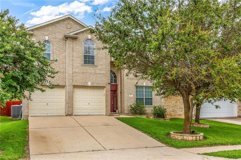 The highly sought-after area due to proximity to outstanding RoundRock Schools and to major employers, highways, Toll roads, Dell Diamond, Kalahari, and Old Settlers Park. Beautiful, move-in ready house with guest bedroom and a full bath on the main level. Open floor plan with an abundance of natural light and lots of storage. Well-desired Sonoma subdivision with 2 pools and parks and trails. LOW TAX RATE. The new roof will be installed before closing. Not to Miss!