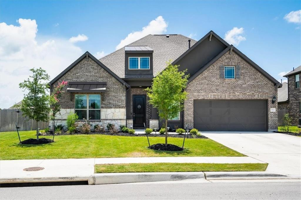 **AGENT OWNER** Gehan built home in 2020, Classic Princeton floor plan providing an open space with large vaulted ceilings and lots of large windows for natural light. Formal dinning area with windows surrounding looking to a large backyard with lots of space.  Dark cabinetry in Kitchen with stainless steel appliances,  white Quartz countertops with a center island large enough for 4-5 stools. Large primary bedroom with lots of natural light and big open way into the primary bath. Primary bath has separate his and hers counter space, garden tub, separate walk in shower with tile from floor to ceiling and a 9 ft shower head. Upstairs is a bonus room along with a full bath and bedroom. 2 additional bedrooms on the mail level with a full bath at the front of the home. A grand entry way with large ceilings leads to the main family room, kitchen, and dinning areas. Home is on a corner lot. One of the largest lots in the neighborhood. Large patio recently added to extend the back porch area. Home is practically brand new and only lived in for right at a year. Finish outs on the home were selected by one of the owners who is an interior designer, you will want to see this home!