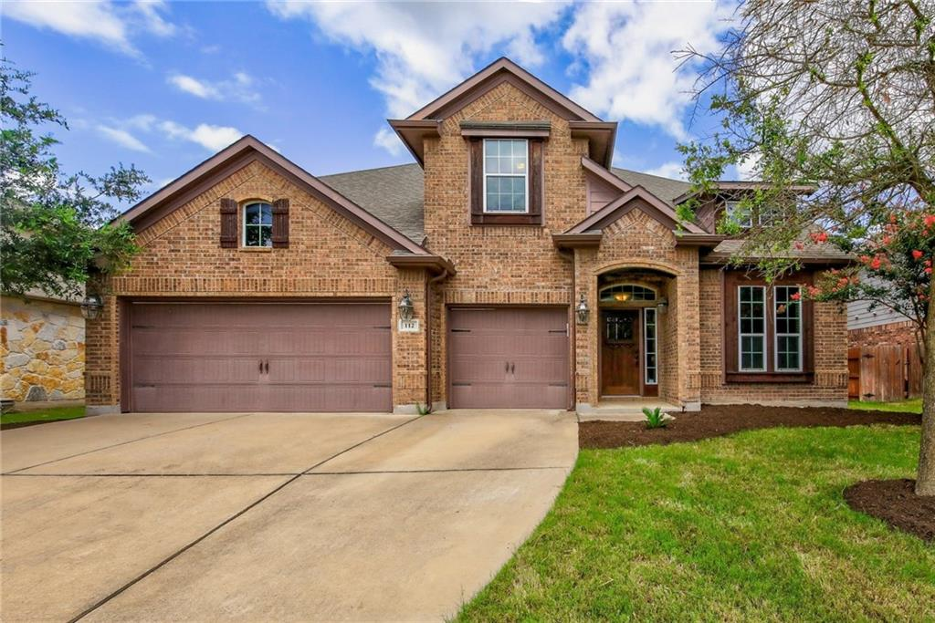 Don't miss out on this stunning home with a 3 car garage on an oversized lot! Tall ceilings combine with an open floor plan and a wall of windows to create an abundance of space throughout this home. The in-law floor plan with a guest bedroom on the 1st level gives you plenty of options. The kitchen boasts dark granite countertops, a large island, a butler pantry, and much more. The upstairs media room includes surround sound. The private backyard backs to woodlands and includes a built-in grill, covered patio, and outdoor fireplace. Perfect for entertaining. Convenient to new shopping center opening soon. Schedule your showing now!