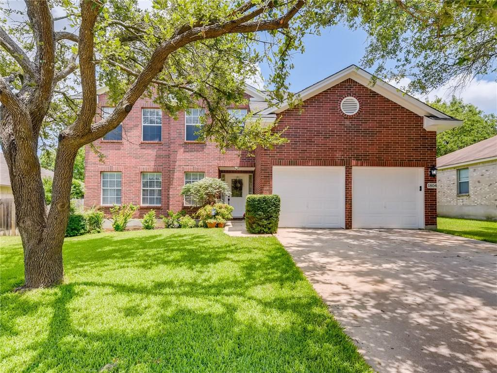 Fabulous 2 story house in the Carriage Hills community in Cedar Park Texas! Original Owners have beautifully upgraded the inside of this 3 bedroom 2.5 bath home: Knotty Alder doors, wood laminate floors, recent updated carpet installed in bedrooms, updated hardware, updated light fixtures, and more! With an additional upstairs loft/game room, this floorplan offers all the space you'll need! The large open kitchen with island, 2 dining areas, stainless steel appliances, 5 gas burner range is perfect for entertaining. Exterior of the home features amazing yard, covered patio, updated Hardie Siding, and exterior paint. Zoned to awesome LISD schools! This is a true must see!!