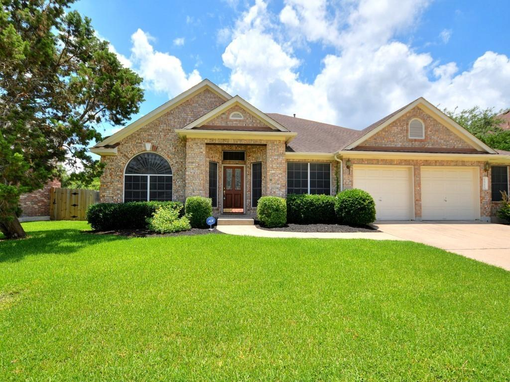 """Step Inside and be Surprised! Commuting Close Buttercup Creek is the Site of this Rare and Exceptional 4BR/2-Bath 1-Story, 2480 Sqft Traditional Backing to a Dedicated Greenbelt - Reserve! Barely Lived-In the home Features Dramatic Soaring Ceilings, Huge Open Kitchen Loaded with Counter Space, Carpet and Tile Flooring, Large Family Room with Fireplace, Formal Living, Formal and Intimate Dining, Expansive Master Suite Fit for a movie star with Double Vanities/Jett Tub/Sep Shower,  Sprinkler/Security Sys, 2""""-Blinds, Painted-2012, H20 Heater-2011, Walls of Windows for Natural Lighting, Magnificent Plantings, 2.5 Car Garage and Much More! Near Popular Schools, Parks, Pools, Trails, Shopping, Dining, Major Thoroughfares and More! WASHER/DRYER/REFRIGERATOR CONVEY."""