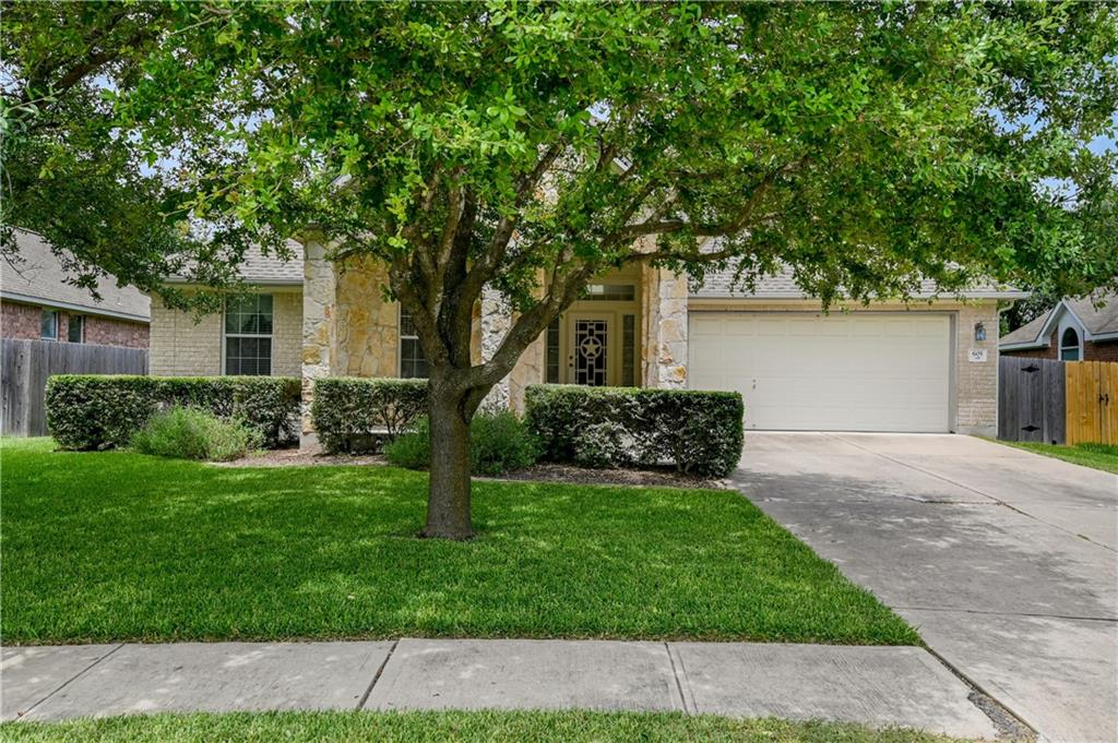 *Offer Deadline Friday 7/30 at 9pm.* Spacious home in great location close to new Amazon building, Pflugerville lake, shopping, dining, hike and bike trails, entertainment and more. Home is a blank slate for your customization and is being sold As-Is. Bones are solid but does need carpet, paint and has been priced factoring in that. All bedrooms and living areas are on the 1st floor. Features 3 beds, 2 baths, office/flex space, formal dining and breakfast area, and oversize game/bonus room upstairs. Roof was done within last 10 years, foundation had a slight adjustment on the left corner in kitchen and comes with warranty, also water heater was updated to tankless, and one AC unit updated. There was a leak in the game room that was fixed after roof replacement. Please see attached documents. Seller will need a 2 week leaseback.