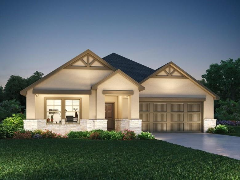 Brand NEW energy-efficient home ready November 2021! Covered patio on this Fitzhugh open concept floorplan with clear views between the family room, breakfast area, and kitchen. Linen cabinets with white granite countertops, brown grey EVP flooring with multi-tone carpet in our Elemental package. Amenities will include a pavilion, playground, great lawn, swimming pool and splash pad. Known for their energy efficient features, our homes help you live a healthier and quieter lifestyle while saving thousands of dollars on utility bills.
