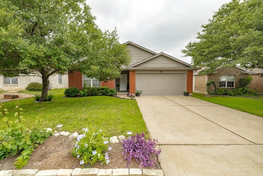 Charming 3 bedroom home in the sought after Ranch at Cypress Creek. Walk to Milburn Park. Great Schools . Private lot that backs to land owned by MUD. No Neighbors behind home. Highly rated schools.