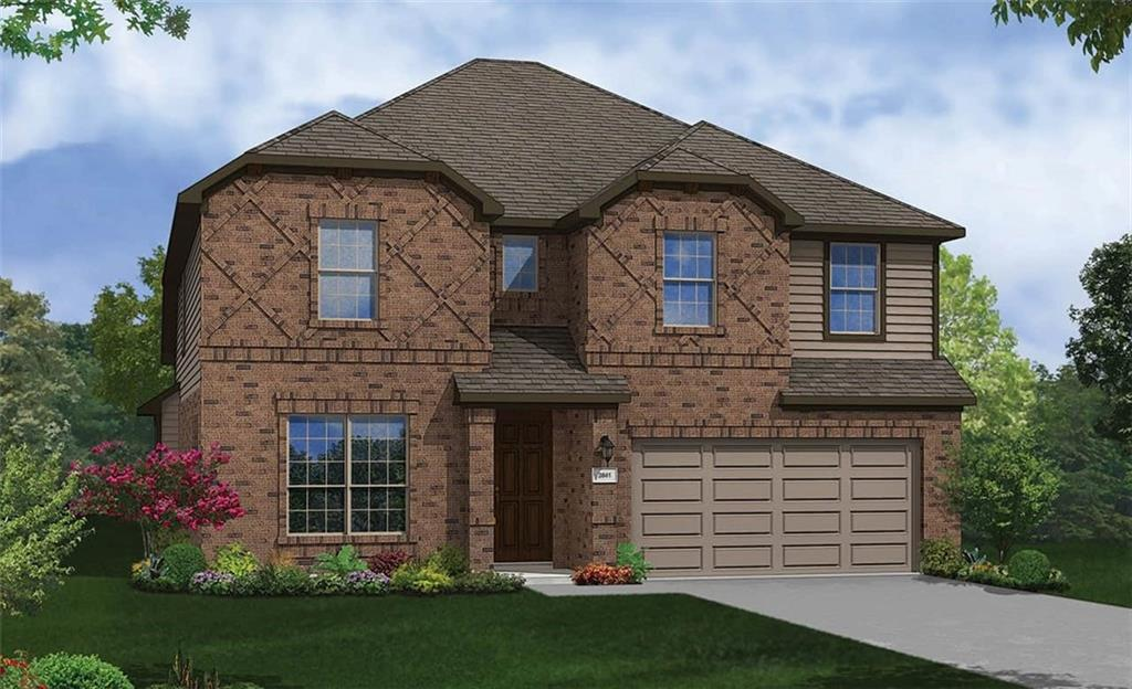Magnolia floor plan with features that include: Bed 5 and Bath 3 in lieu of Dining and Powder   Walk in Owner Shower with Mud Pan   Large Kitchen Island   Walk in Pantry   Loft   Gameroom.  Available October.