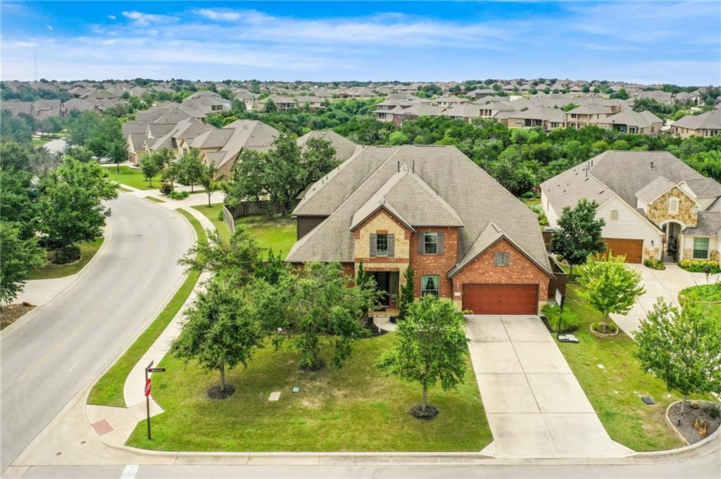 MULTIPLE OFFERS RECEIVED.  HIGHEST AND BEST DUE BY NOON ON TUESDAY, 7/27.  Beautiful 4 bed, 3.5 bath home located on a cul-de-sac lot in the private gated community of Crystal Falls. Impressive entryway welcomes you in soaring ceilings that carry into the open living area featuring gorgeous wood floors, a cozy gas log fireplace, and motorized solar screens. Kitchen made for entertaining offers upgraded granite countertops, built-in stainless steel appliances, and in-ceiling speakers. Spacious primary ensuite has walk-in closets, a garden tub, large shower, in-ceiling speakers, and dual vanities - perfect for getting ready. Game room is wired for 5.1 surround sound and includes a motorized dropdown projector screen. Enjoy outdoor living with this professionally landscaped backyard featuring a seating area with a built-in wooden bench, a large extended covered patio, and wiring for a hot tub. Garage floor is epoxy coated. Between this home and the amazing community amenities, you don't want to miss this chance!