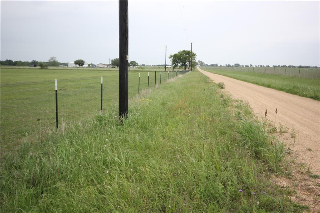 10.56 acres out of existing 39.226 parcel.  Buyer will need to do new survey and complete fencing for new tract. Deed restriction to be filed at closing to allow 2015 or newer mobile homes and no junk yards.  No mineral rights will convey.