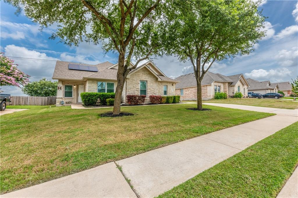 Great 1-Story home with Solar! This is an awesome opportunity to own a home in the Royal Pointe community. All exterior windows have been replaced, primary bath with separate shower & garden tub, Kitchen center isle, open floor plan, Electric Cooktop and more.