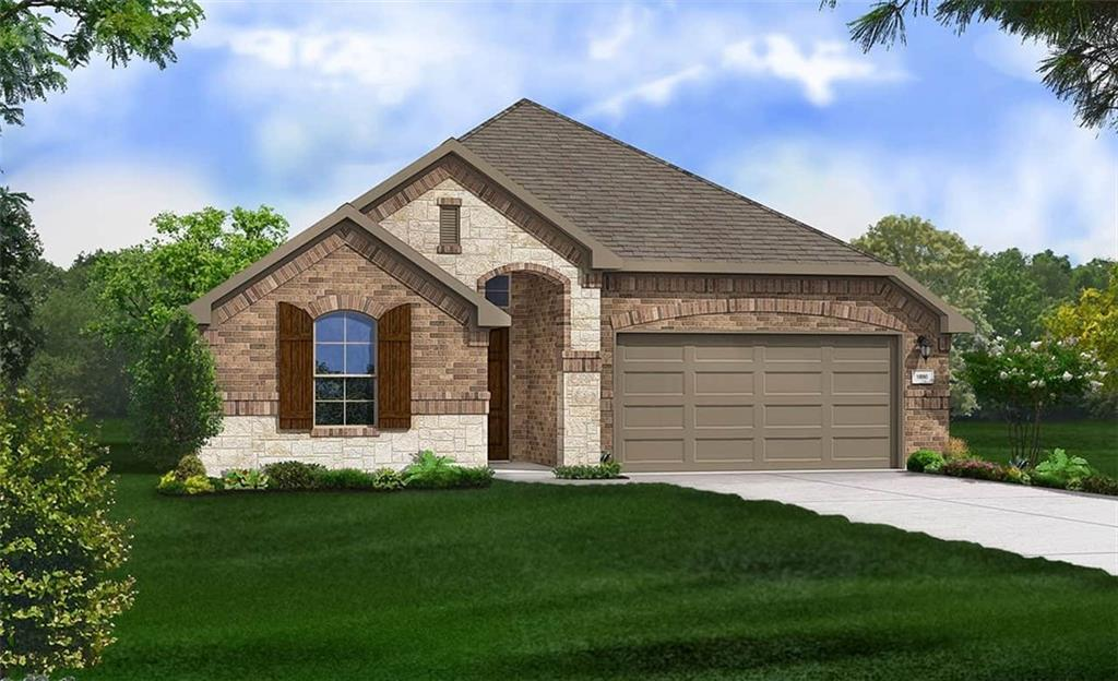 Mahogany floor plan with features that include: Mud Pan and Custom Tilework in Owner Shower   Study in lieu of Dining Room   Owner Bay Window   Door to Utility from Owner Closet   Large Kitchen Island   Mud Room   Garden Tub   Large Owner Walk in Closet. Available October.