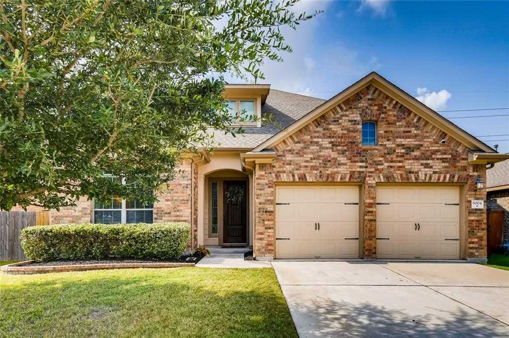 This 5 bedroom, 3.5 bathroom home is located on a quiet, calm street and has it all! Neighborhood activities are a bonus with food trucks at neighborhood pool, several nearby parks, and convenient access to the greenbelt. While still having close access to main highways. Very spacious layout with master bedroom downstairs and other 4 bedrooms upstairs. Bonus spaces include: first floor office space, formal dining room, upstairs media room, and upstairs flex space. Current owners have done some recent upgrades last year which include - ship lap in the living room downstairs and board and batten in our formal dining room. Backyard is large with covered patio and has a lot of privacy since it backs up to greenbelt with no direct back door neighbors.