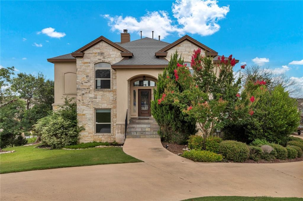 This beautiful home is perched on a hill top with panoramic views from every window! Located in the rolling hills of the Fairways at Crystal falls! This 4 bedroom + an office, 3.5 bathroom 3,000sf+ home on 1/3 acre lot at the end of a Cul-De-Sac is prefect for your family. Located in the highly sought after Leander school district. This is the home you have beeen waiting for. Schedule a tour today before its gone!!!